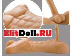 Мужские силиконовые секс торсы мастурбаторы с членом