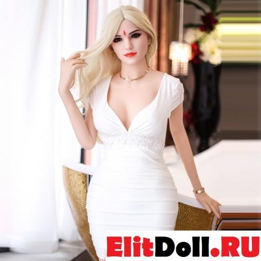 Реалистичная силиконовая секс кукла Рене