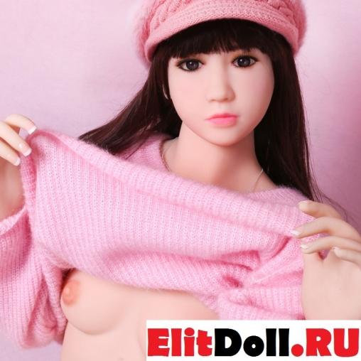 Реалистичная силиконовая секс кукла Джесси