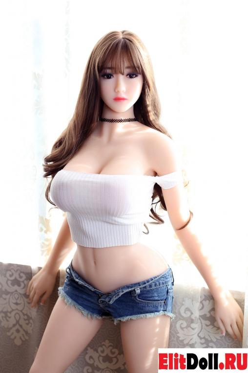 Реалистичная силиконовая секс кукла Агнет