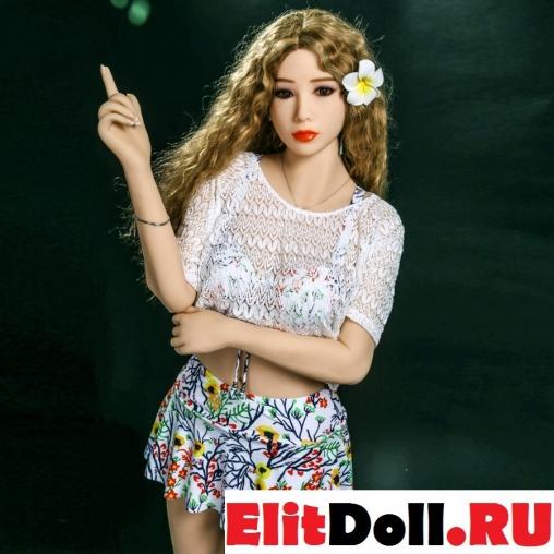 Реалистичная силиконовая секс кукла Дженни