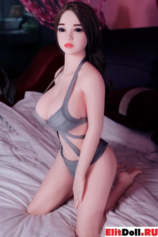 Реалистичная силиконовая секс кукла Джулиет