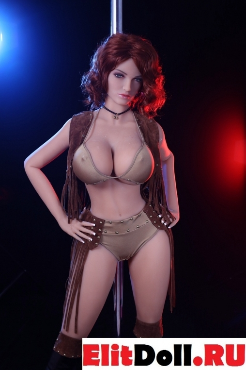 Реалистичная силиконовая секс кукла Брунхилд
