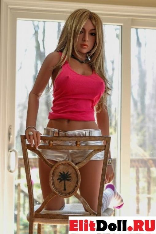 Реалистичная силиконовая секс кукла Кейт