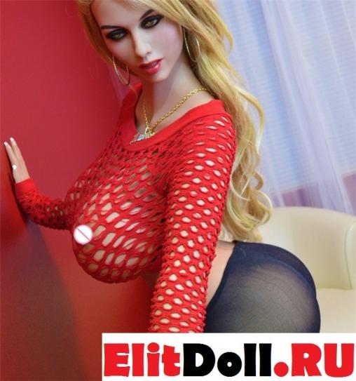 Реалистичная силиконовая секс кукла Тина