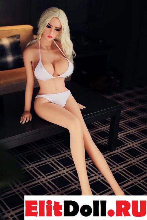 Реалистичная силиконовая секс кукла Лидия