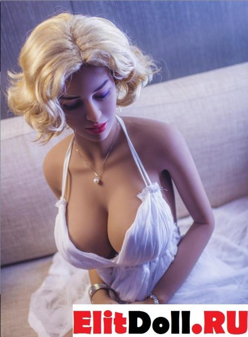 Реалистичная силиконовая секс кукла Мэрилин