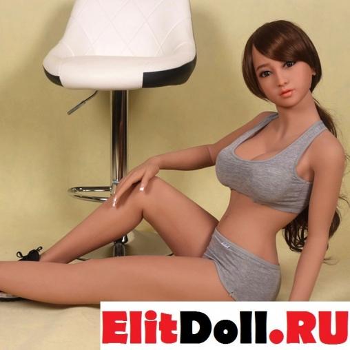 Реалистичная силиконовая секс кукла Эмили