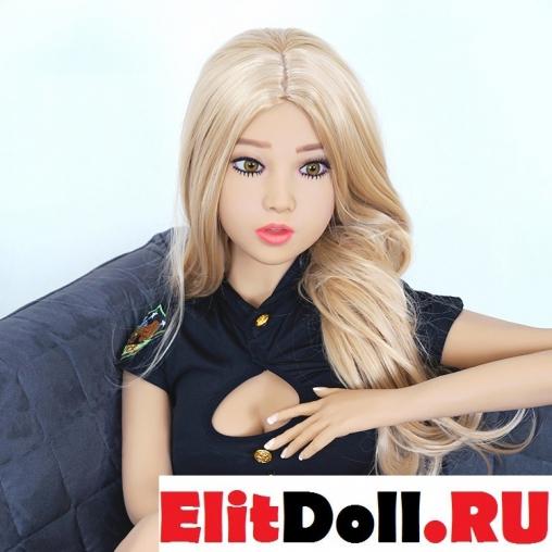 Реалистичная силиконовая секс кукла Фэйт