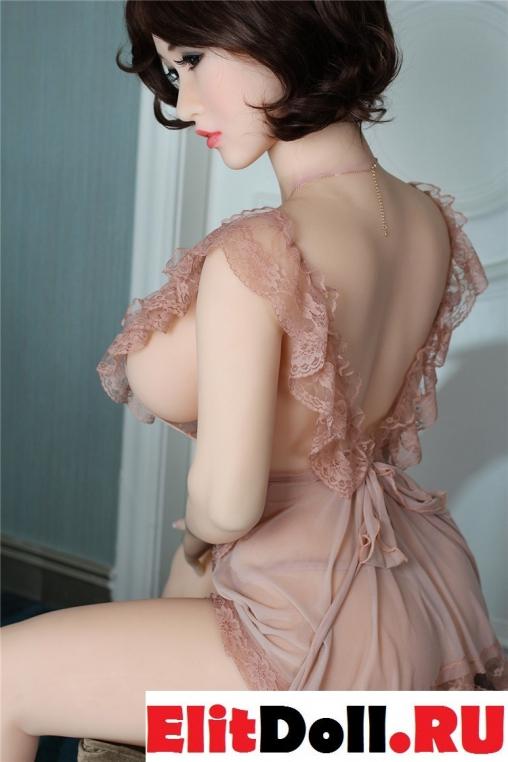 Реалистичная силиконовая секс кукла Джина