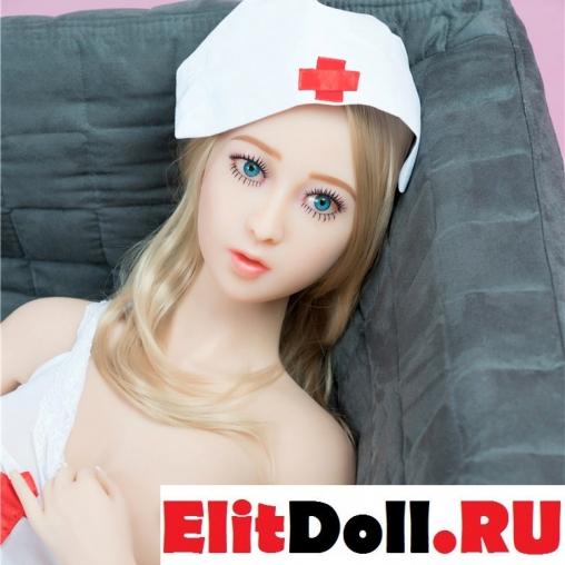 Реалистичная силиконовая секс кукла Кристал