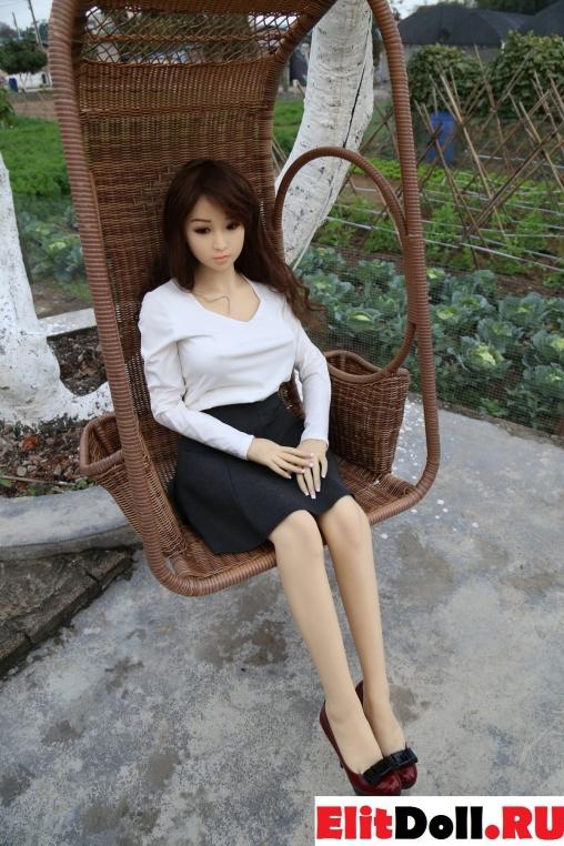 Реалистичная силиконовая секс кукла Кэрол