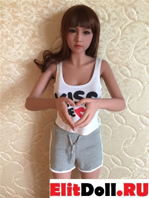 Реалистичная силиконовая секс кукла Этель