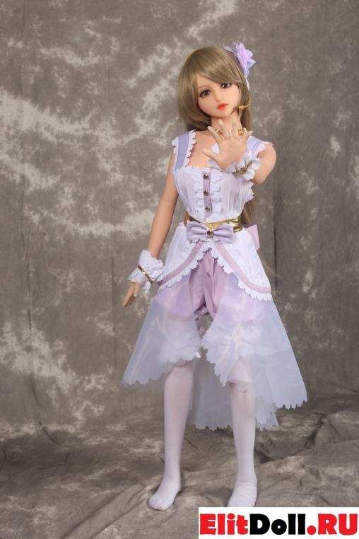 Реалистичная силиконовая секс кукла Кэрри