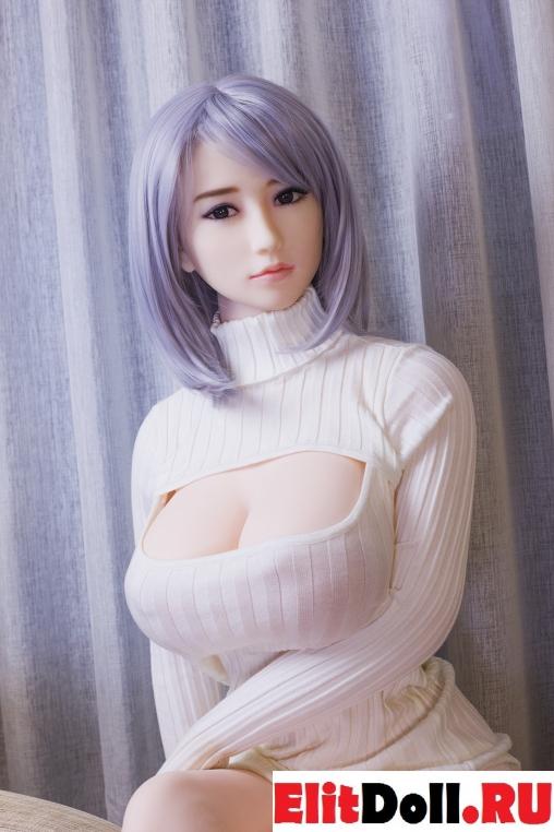 Реалистичная силиконовая секс кукла Сара