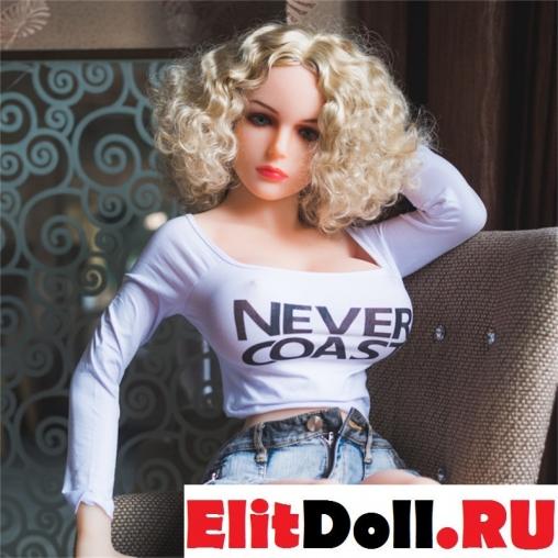 Реалистичная силиконовая секс кукла Кэти