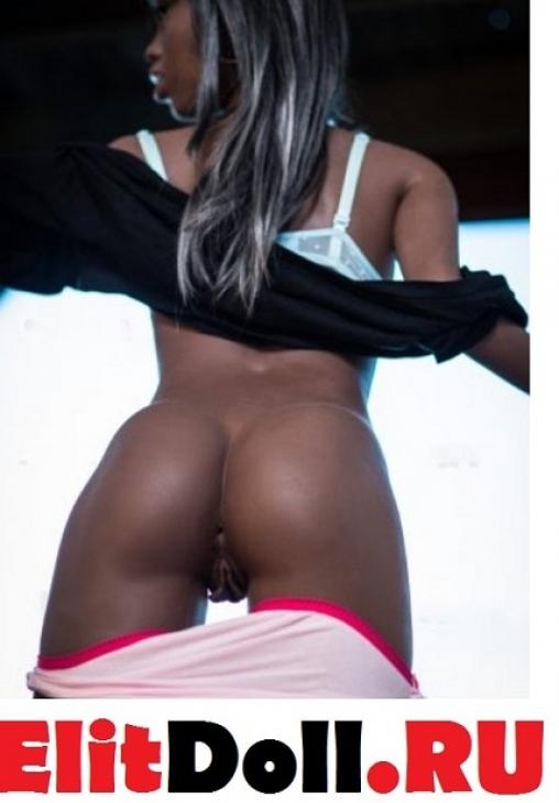 Реалистичная секс кукла негритянка Ирэна