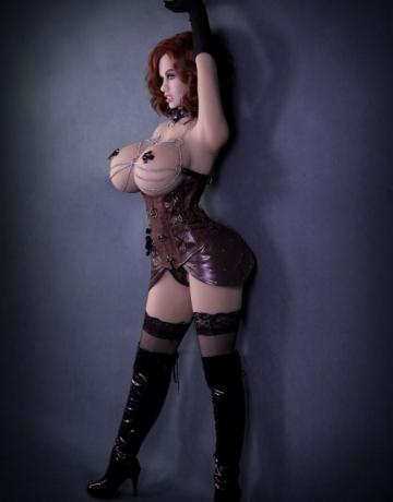 Реалистичная силиконовая секс кукла Джейла
