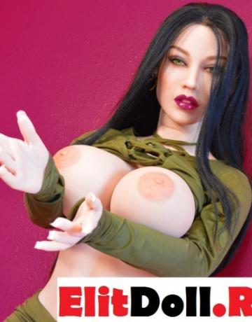 Реалистичная силиконовая секс кукла Джанин