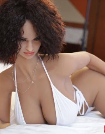 Реалистичная силиконовая секс кукла Бриджит