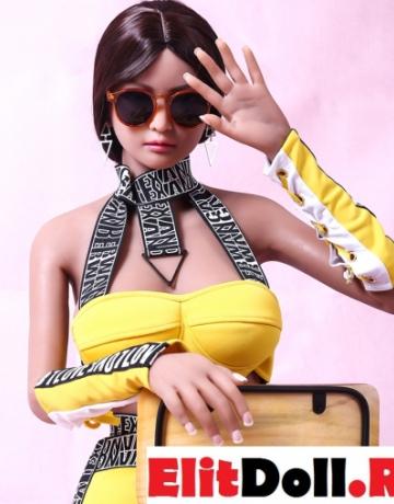 Реалистичная силиконовая секс кукла Пегги