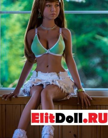 Реалистичная силиконовая секс кукла Конни 150см