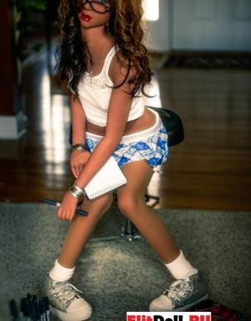 Реалистичная силиконовая секс кукла Ребекка