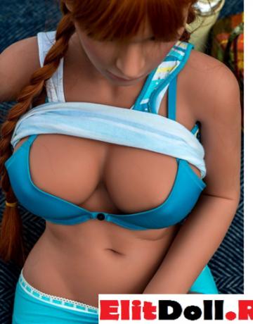 Реалистичная силиконовая секс кукла Пат