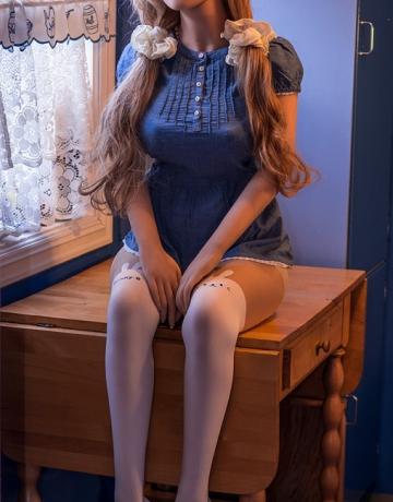 Реалистичная силиконовая секс кукла Хизер