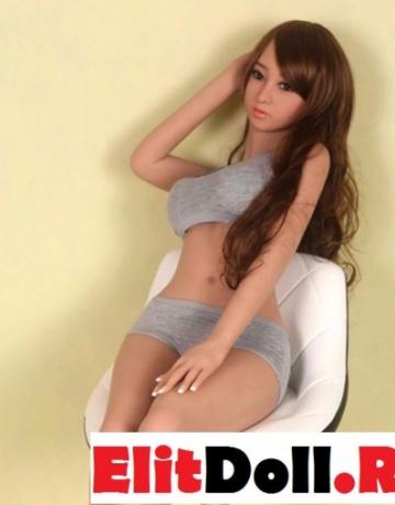 Реалистичная силиконовая секс кукла Эмили 150 см