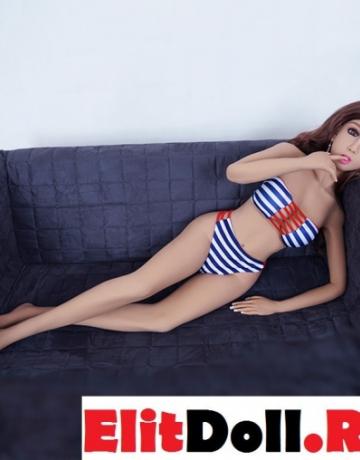 Реалистичная силиконовая секс кукла Синди