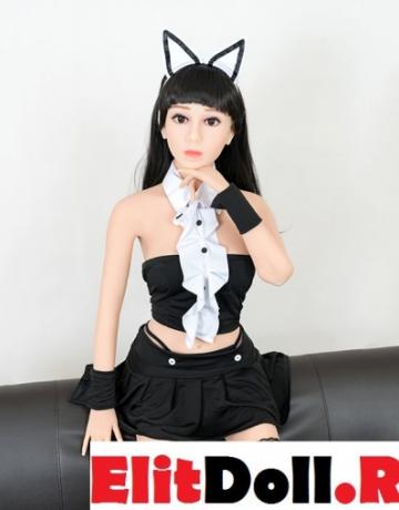 Реалистичная силиконовая секс кукла Эвелин