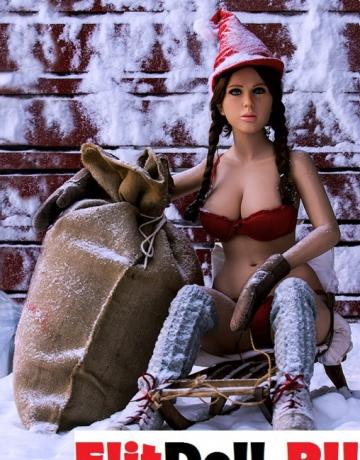Реалистичная силиконовая секс кукла Джейми