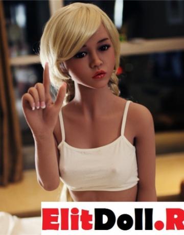 Реалистичная силиконовая секс кукла Джуди