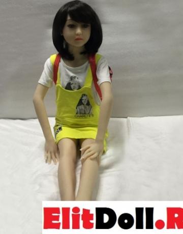 Реалистичная силиконовая секс кукла Аннетт